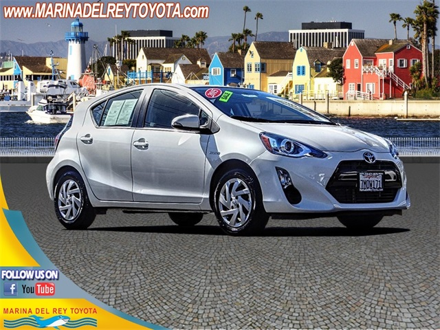 Pre Owned 2015 Toyota Prius C Two 5d Hatchback In Marina Del Rey